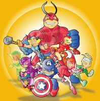 avengers by kevtoons