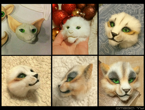 Handmade kitty by OmegaLioness