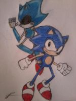 Sonic CD Fanart by mephiles3547