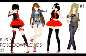 K-POP POSE#1 DL by ThisisKENZ