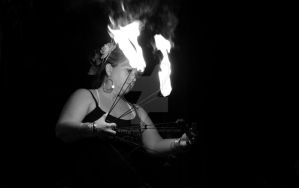 Fire dancer in PC by MorningGlory34