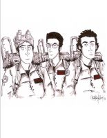 Ghostbusters by IwuvtheOffice