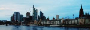 Frankfurt Skyline by AljoschaThielen