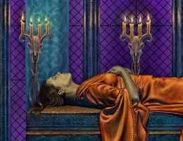 Death of a Queen - Detail 2 by Dysis23A