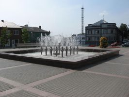 Water Fountain by Harpie157