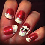 Christmas Nails by B-Southern