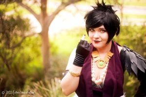 Dragon Age - Morrigan I by fiathriel