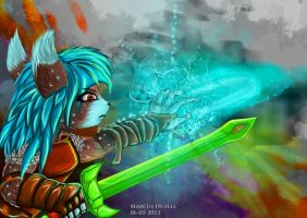 Sword and magic! by Gamal-the-rookie