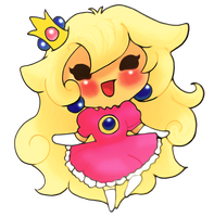 Request: Princess Peach by Madhurupa