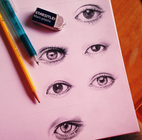 Eyes[1] by hyokyoung1015