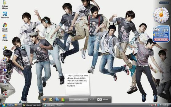 Super Junior Wallpaper by DestanyStar