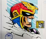 SDCC2015 - Captain Falcon by theCHAMBA