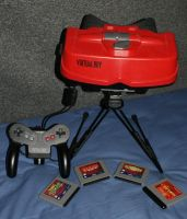 Virtual Boy by nintendoloz