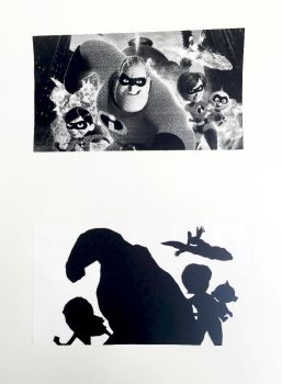 Incredibles Paper Cut by zara-leventhal