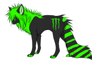 Monster dog Adoptable by Wolfart-123