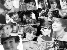 Louis Tomlinson Collage by ShayHart