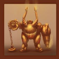 Some steamy robot by Drul