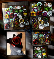Badges are here XD by AzureHowlShilach