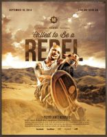 Called to be a Rebel Church Flyer Template by loswl