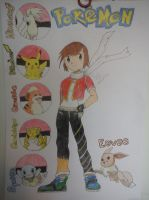 Me as a Pokemon Trainer FINISHED by StarsMoonWolf-Lover