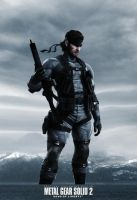 MGS2 Solid Snake by GeorgeSears1972
