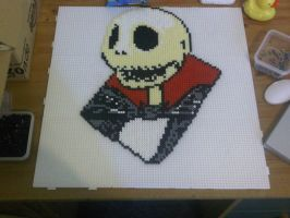 Jack Skellington - Part Three - Hama by murderdollsqueen