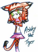 Ashley The Tiger :Concurso: by Yessy-Linda