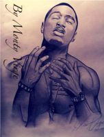 Drawing Trey Songz by MontyKVirge