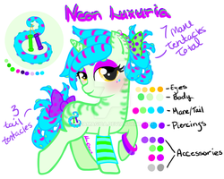 Tentacle Pony Adopt 005 Closed by mea0113