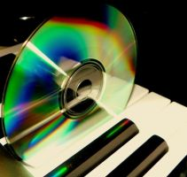 Rainbow CD by iJustRodeYourBicycle