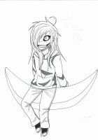 Chibi Jeff the killer by Adam-and-Jessica
