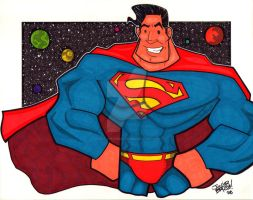 Superman by thatjuniorbruce