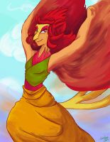 Lady of Fire by Silent-nona-light