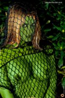 Netted Orion Slave Girl by Paudraic