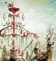 The Christmas Miracle - detail 3 by KingaBritschgi
