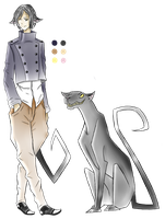 Panther Familiar- Auction Adopt (Closed) by HornzOverHeelz
