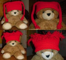 Raggedy Anne and Andy hats by Sumbdumbkid
