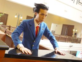 Phoenix Wright - Ace Attorney by rolling-beans