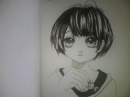 Girl from the manga book 'In The Chocolate' by Dandybyknight
