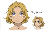 Tessa redesigned by cookiemotel94