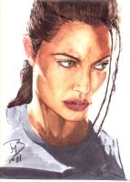 Angelina Jolie by jeremiah222
