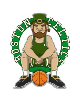 boston celtics fanart by himaen