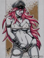Poison greytone sketch by gb2k