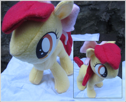Apple Bloom Plushie by buttsnstuff