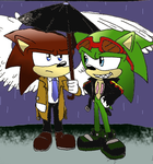 Scourge and a angel by 4sonicfan