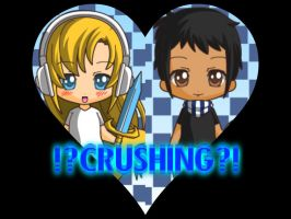 !?CRUSHING?! ( Me and my crush,made with chibi m.) by cyancrap