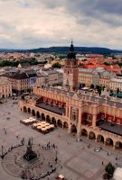 Main Market Square in Cracow by pourquoi25