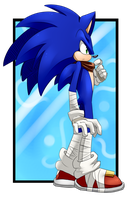 Birthday gift: Sonic Boom by KyuubiCore