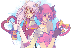 Sailor...mew? by Sannanai