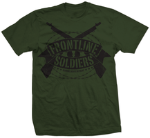 Frontline Soldiers t-shirt by Emberblue